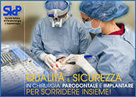QUALITA' E SICUREZZA IN CHIRURGIA PARODONTALE E IMPLANTARE